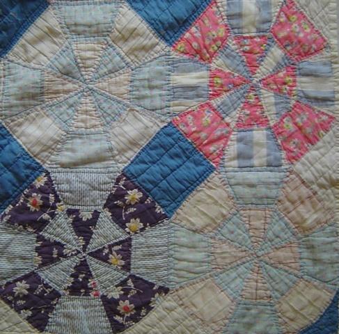 4 old quilt blocks